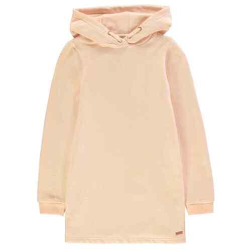 Firetrap Sweat à capuche Robe de Jeune Filles Midi Sweat à capuche Haut à Capuche pleine longueur manches