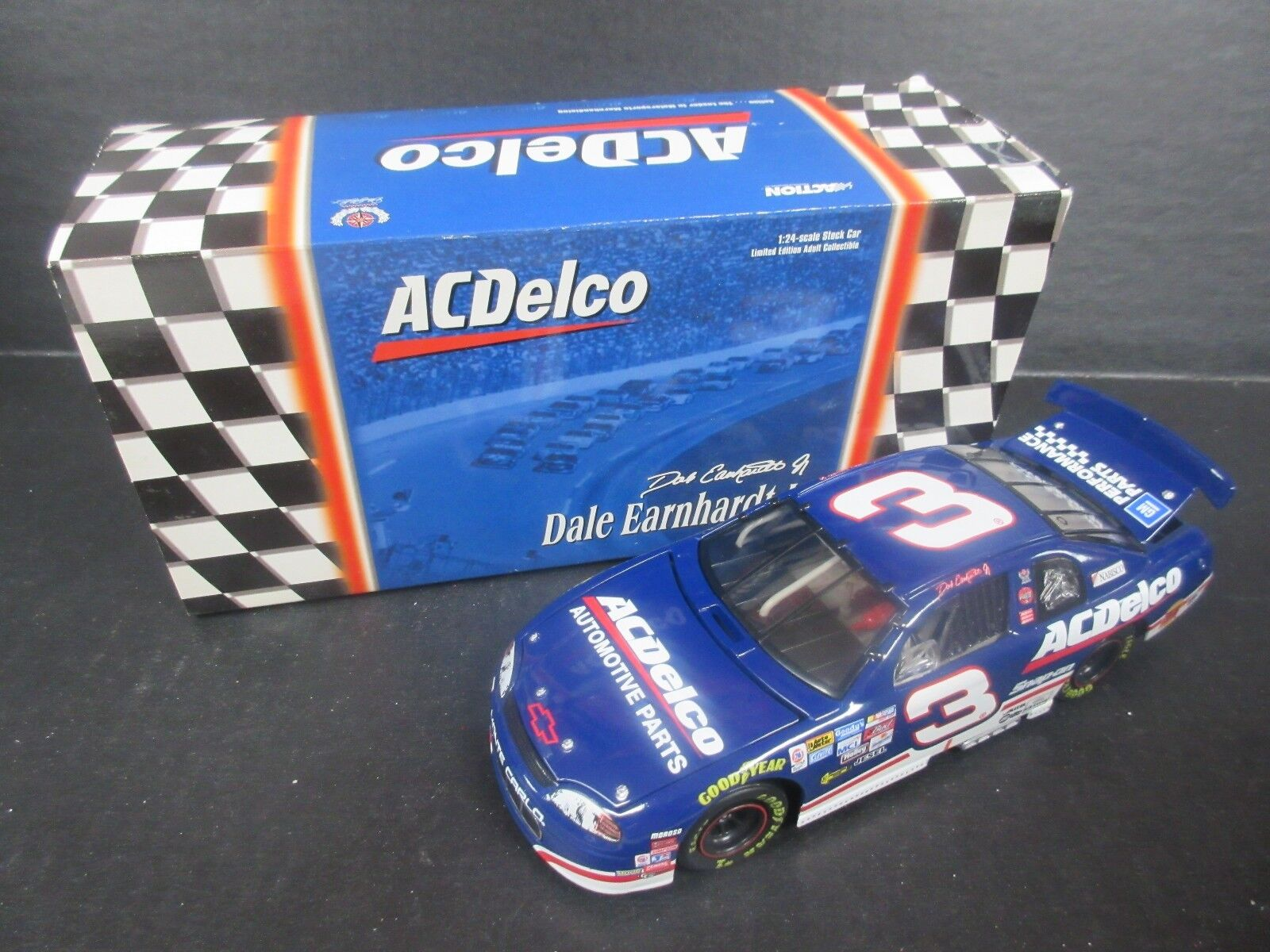1999 Action  3 Dale Earnhardt Jr.--AC Delco-- 1/24th 1/24th 1/24th scale b01680