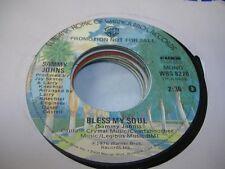 Rock Promo 45 SAMMY JOHNS Bless My Soul on Warner Bros. (promo)