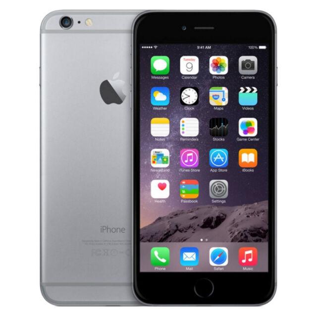 Apple iPhone 6 Plus - 64GB - Spacegrau (Ohne Simlock) Smartphone