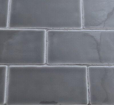 3x6 Dark Gray Matte Subway Ceramic Tile