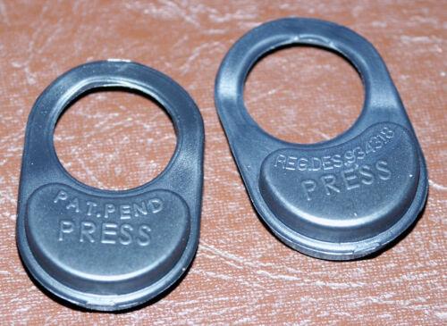 Kangol MG MGC trigger lock seatbelt release tab MGB Seat Belt PRESS Button