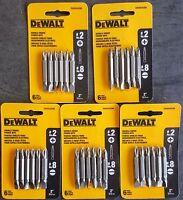 (5-packs Of 6) Dewalt Dw2024cr6 6-pack 2l Double-ended Power Screw Bits