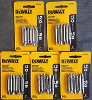(5-packs Of 6) Dewalt Dw2024cr6 6-pack 2l Double-ended Power Screw Bits
