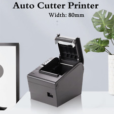 80mm E802 Thermal Receipt Auto Cutter Pos Printer Usb Bluetooth With Power Supply