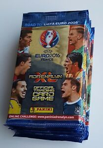 UEFA-Road-to-Euro-2016-ADRENALYN-XL-Card-By-PANINI-10-packs-60-cards