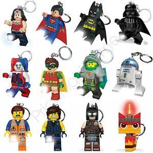 LEGO: Keyring Minifigures Nexo Knights Super Heroes New. Star Wars