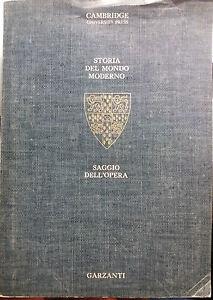 Storia-del-mondo-moderno-Saggio-dell-039-opera-AA-VV-Garzanti-1995-G