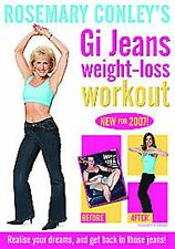 Rosemary Conley's Gi Jeans Weight Loss Workout BRAND NEW AND SEALED UK R2 DVD