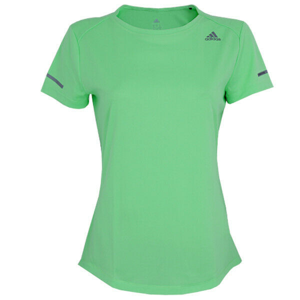 adidas Damen Sequencials ClimaLite Shirt Laufshirt Running Fitness Sportshirt