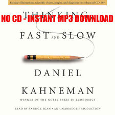 Thinking, Fast and Slow Daniel Kahneman - {AUDIOBOOK}