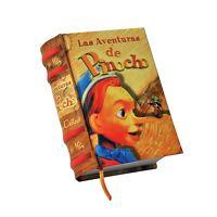Miniature Book Las Aventuras De Pinocho In Spanish Hardcover Outer Spine