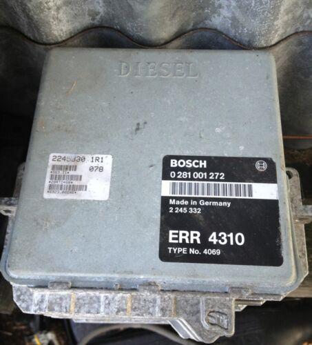 Range Rover P38 Engine ECU 2.5 ERR 4310 Bosch