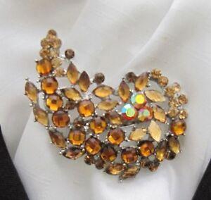 Deluxe Gold Diamante Paisley Design Stock Pin - Ammanford, Carmarthenshire, United Kingdom - Deluxe Gold Diamante Paisley Design Stock Pin - Ammanford, Carmarthenshire, United Kingdom
