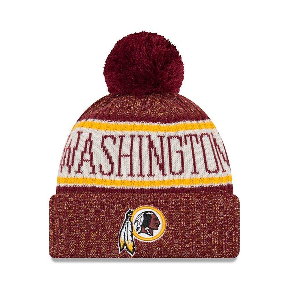 NFL Viola Washington rossoskins Sideline 2018 Cuffed ha INVERNO BERRETTO newera