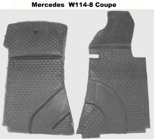 Autoteppich Formteile - Schaumstoff  für Mercedes W114-8 Coupe 2teilig Neuware