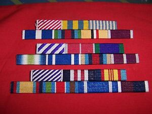 MEDAL-RIBBON-BAR-2-SPACE-FULL-SIZE-PINNED-or-STUDDED-or-SEWN