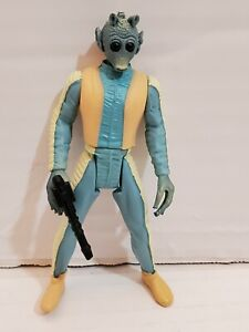 Star Wars Greedo Action Figure With Blaster Loose 1996 LFL Kenner