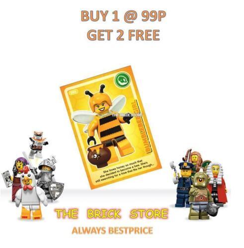 GIFT BESTPRICE LEGO #086 BUMBLEBEE GIRL CREATE THE WORLD TRADING CARD NEW