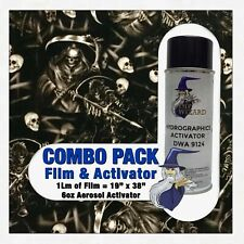 Hydrographic Film Activator Death And Skulls Hydro Dip Dipping Wizard