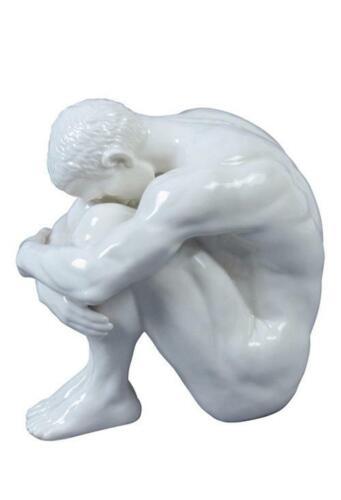 30069 Nude Male Glazed - Artistic Nudes Sculpture