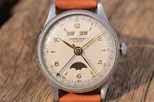 Picard Cadet Valjoux day date vintage watch calendar montre Uhr relogio reloj