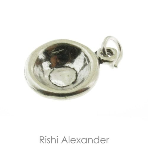 925 Sterling Silver Cereal Bowl Charm American Made