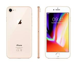 "#cybersale Apple iPhone 8 4.7"" 256gb Gold Latest Smartphone Cod Agsbeagle"