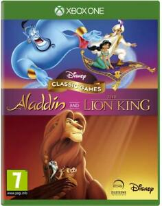 Disney-Classic-Games-Aladdin-and-The-Lion-King-Xbox-One-New-Sealed