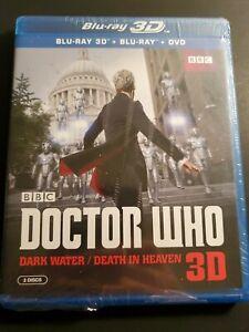 Doctor-Who-Dark-Water-Death-in-Heaven-Blu-ray-3D-DVD-2015-2-Disc-Set-NEW
