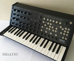 new korg ms 20 mini analog monophonic synthesizer synth keyboard modular japan ebay. Black Bedroom Furniture Sets. Home Design Ideas