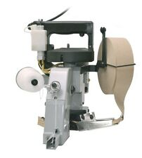 Bag Closing Machine, Stitcher + Tape Feeder,Portable 110v,1 crepe paper included
