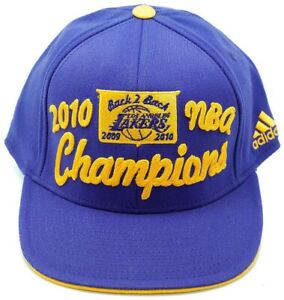 Los-Angeles-Lakers-Men-NBA-Basketball-2010-Champions-Back-to-Back-Cap-Adidas-Hat