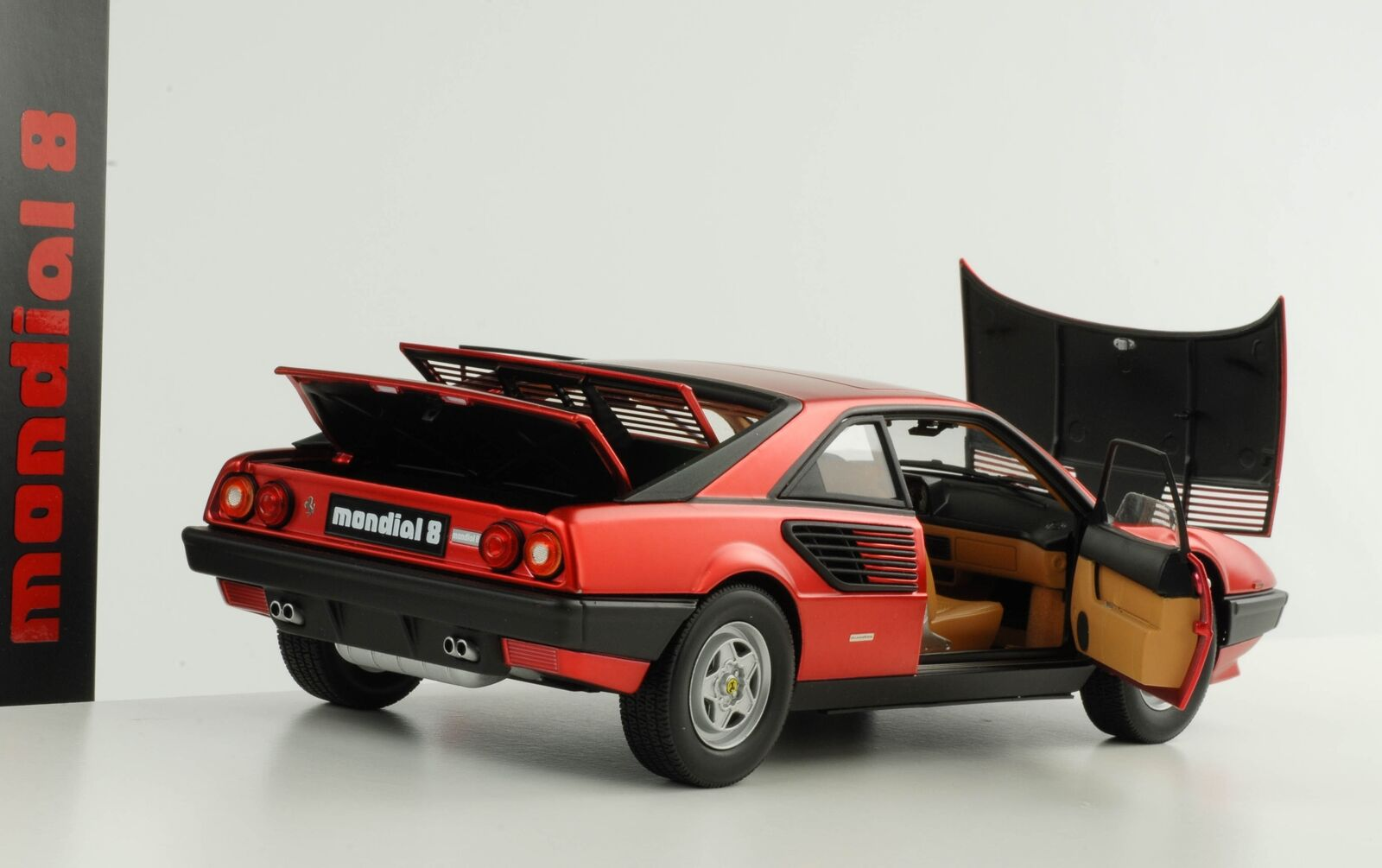 Ferrari Mondial 8 Hot Wheels Elite Serie 60 Aniversario F1 Cherry Rojo 19