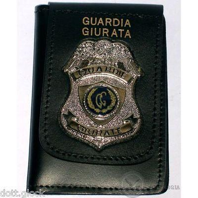 Placca Senza Clip G.P.G I.P.S AQUILA® Guardia Particolare Giurata Incaricato PS