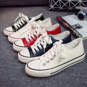 Women-Lady-ALL-STARS-Chuck-Ox-Low-High-Top-shoes-casual-Canvas-Sneakers-New