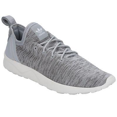 Damen Adidas Originals ZX Flux ADV Tugend Ausbilder Clear Onix Grau UK 7.5 bb074 | eBay