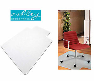 120 X 90cm FROSTED PVC PLASTIC OFFICE HOME FLOOR CHAIR DESK MAT PROTECTOR EBay