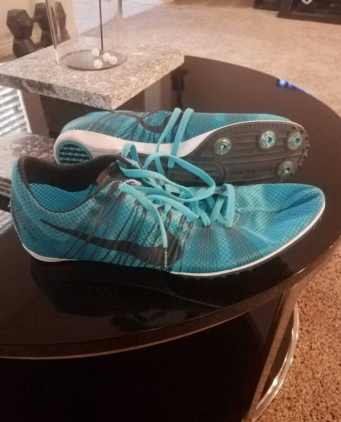 New Nike Zoom Victory 2 Mens Track Field Spike Mid Distanc Racing Shoes. Size 13
