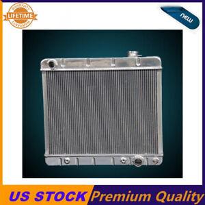 KKS 3 Rows Stamp Tank Aluminum Radiator FIT 96-02 Chevy Express 2500 3500 V8