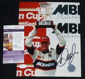 DALE-EARNHARDT-JR-Signed-NASCAR-Racing-8x10-photo-JSA-COA-T75767