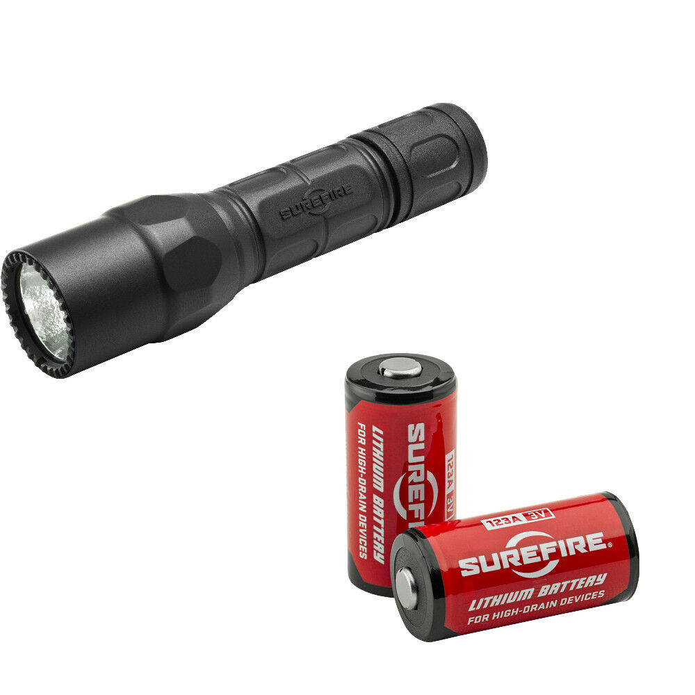 Surefire G2X Pro Dual-Output 320 15 Lumen LED Flashlight - G2X-D-BK