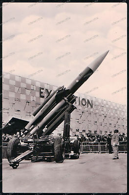 Bilder & Fotos Militaria For Improving Blood Circulation Foto-ak-bristol-bloodhound-rakete-rocket-großbritanien-britain