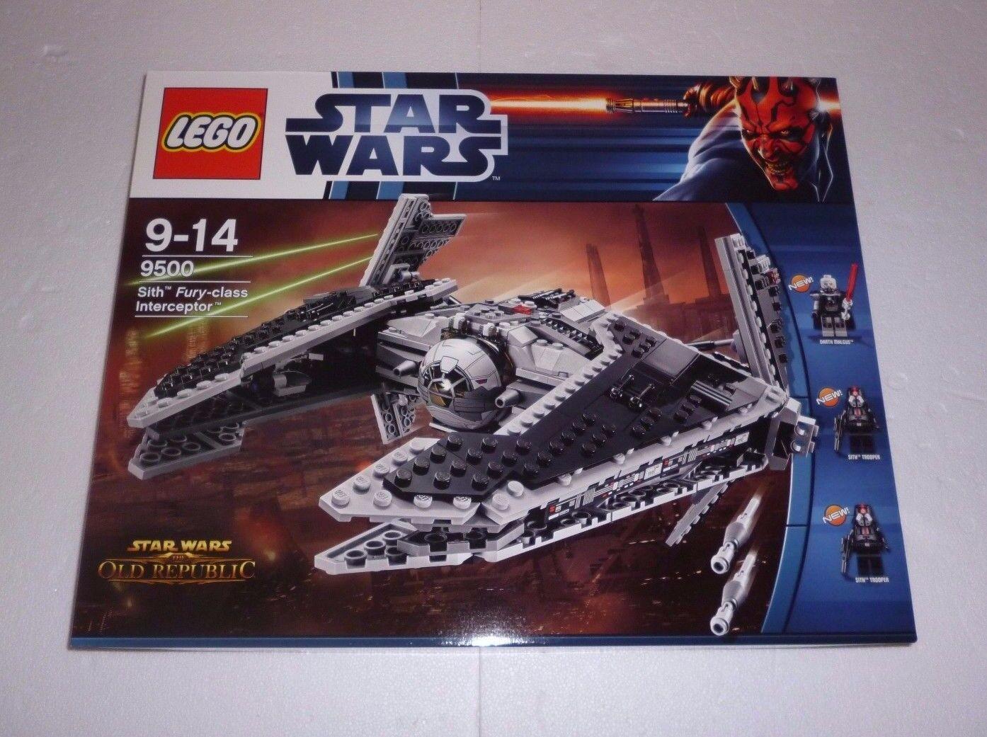 Lego Star Wars Sith Fury-Class Intercepteur (9500) NEUF NEW NEUF dans sa boîte