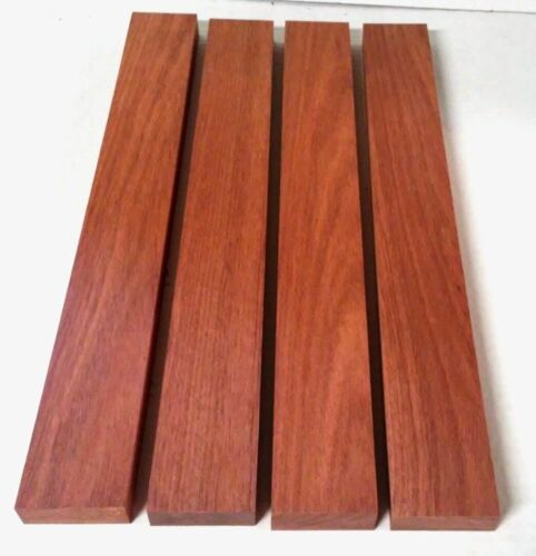 """BLOODWOOD 3//4"""" x 2"""" x 16/"""" Lumber Cutting Wood Boards Carving Turning"""