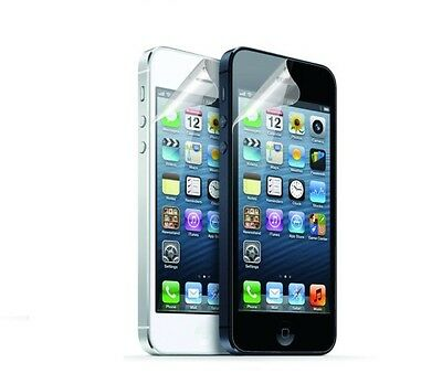 Screen Protector Guard For iPhone 5 / 5G With Cleaning Cloth PACK OF 10