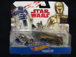 Hot-Wheels-Star-Wars-Die-Cast-Character-Cars-2-Pack-R2-D2-amp-C-3PO-r2d2-c3po