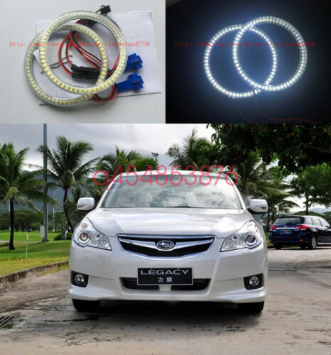 2x Excellent SMD Angel Eyes kit Halo Ring For Subaru Legacy Liberty 2003-2006