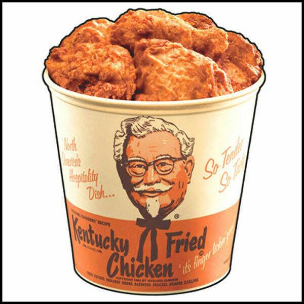 Fridge Fun Refrigerator Magnet KFC Kentucky Fried Chicken Bucket ...