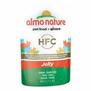 2x Almo Nature HFC in Jelly with Tuna Cat Pouch 24 x 55g rXLjJQZy-07220322-857738676